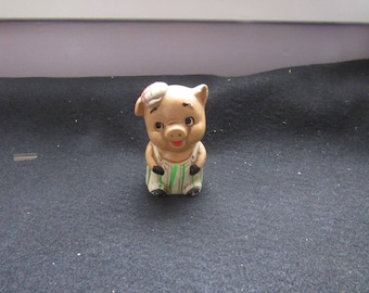 Free Shipping in USA Vintage Mini Piggy Bank 2776