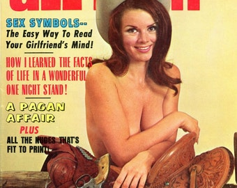 All Man Magazine   1970  Sex Symbols   One Night Stand  Pagan Affair  Nudes  Arnold Schwarzenegger in ad  Pinups Gorgeous Women   mature
