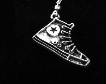 Sneaker Earring for Men, Nickle Free Earring, Jewelry for Men, Men's Sneaker Earring, Silver Plated Sneaker Earring