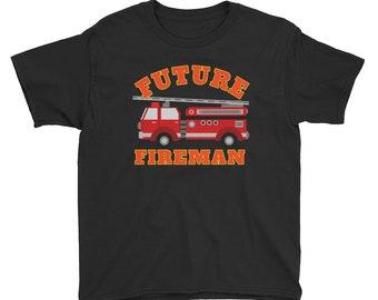 Future Fireman Youth Short Sleeve T-Shirt