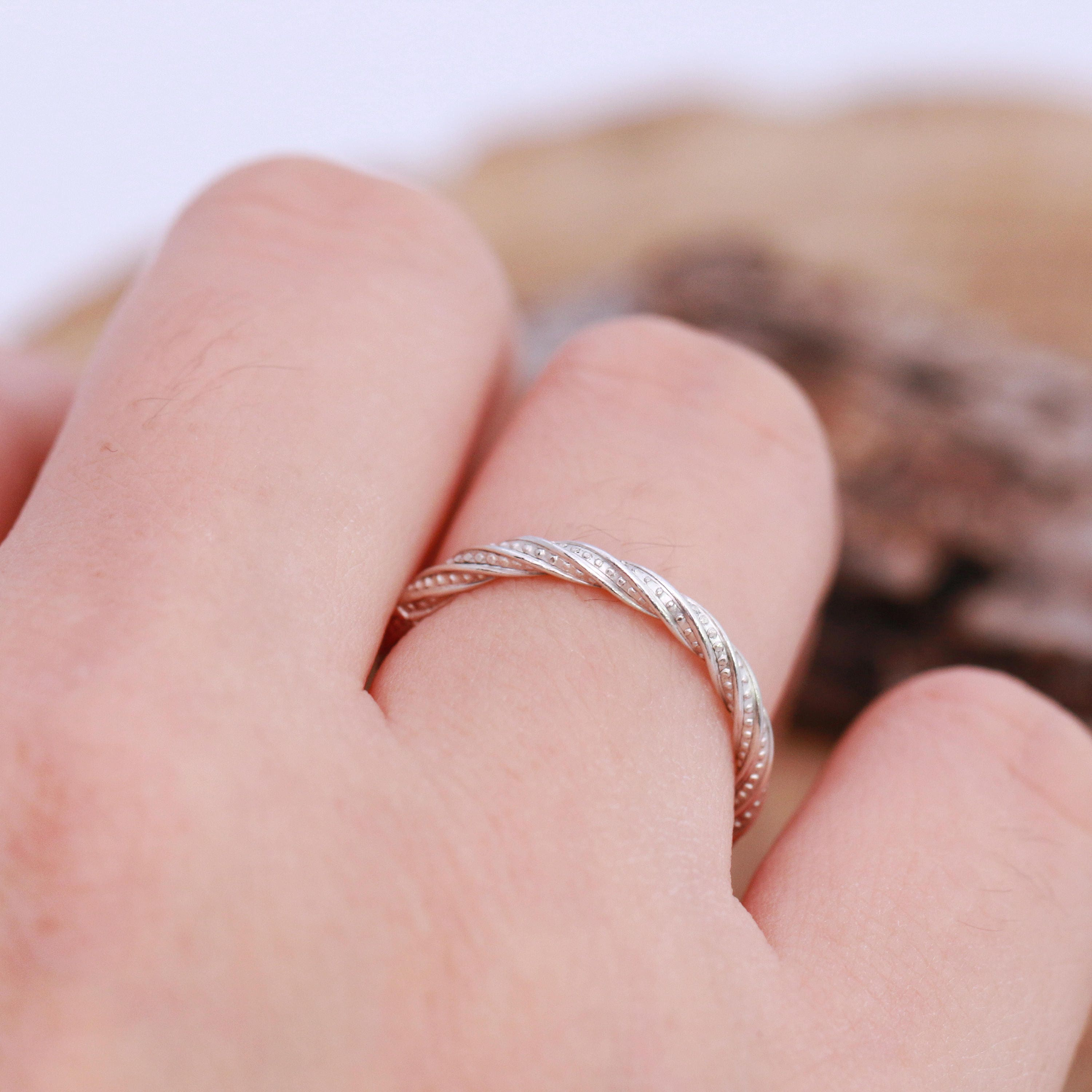 Sterling Silver Ring|Sterling Silver Pattern Ring|Sterling Silver ...