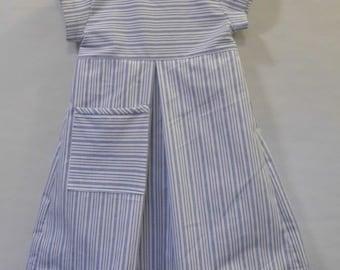 Little girl dress, stripe dress, todler dress, everyday dress, casual dress, play dress, Sunday dress, fun dresses