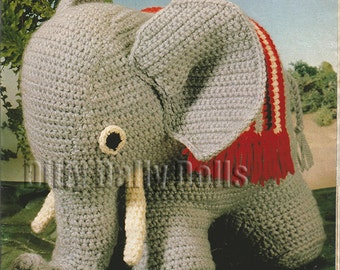 Crochet Elephant Toy/doll/animal pattern