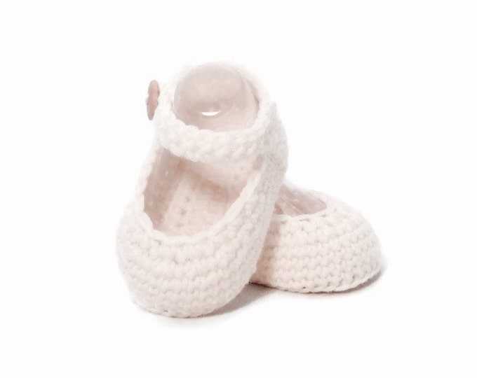Featured listing image: Mary Jane Baby Booties