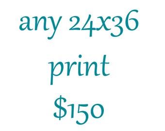 24x36 Photography Print-Large Wall Art-Custom Enlargement