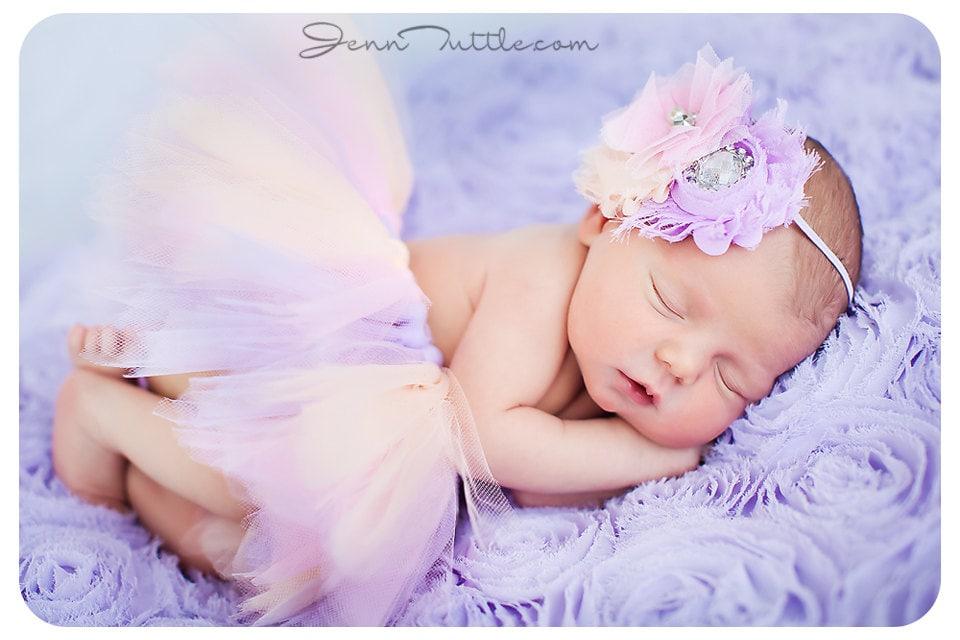 Newborn Tutu Baby Set Photo Prop
