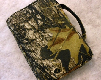 Bible Cover Mossy Oak Camo Your Book Measurements Required