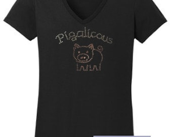 Pigalicous Rhinestone T-Shirt Made to order