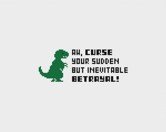 Firefly: Curse Your Sudden But Inevitable Betrayal Cross Stitch Pattern PDF Instant Download