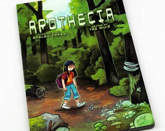 Apothecia - Illustration by Shelby Cragg
