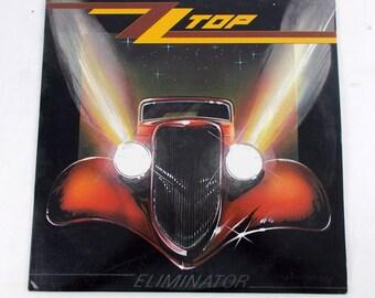 ZZ Top Eliminator Vinyl LP Record Album 9 23774-1
