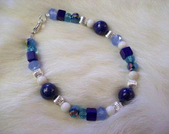 Lapis Crystal Bracelet