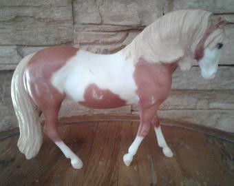 Vintage Small Bald Face Paint/Pinto Breuer Horse