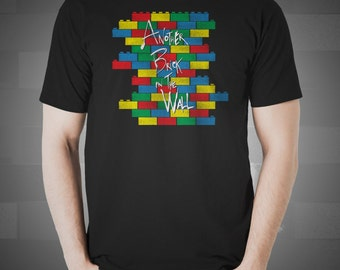 Brick in the Wall - Lego Pink Floyd Shirt | T-shirt for Women Men | Funny t-shirt