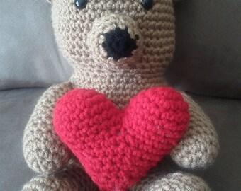 Amigurumi Love Bear