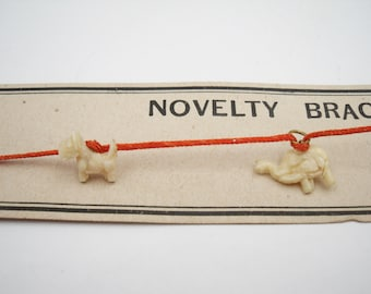 Celluloid charm novelty bracelet