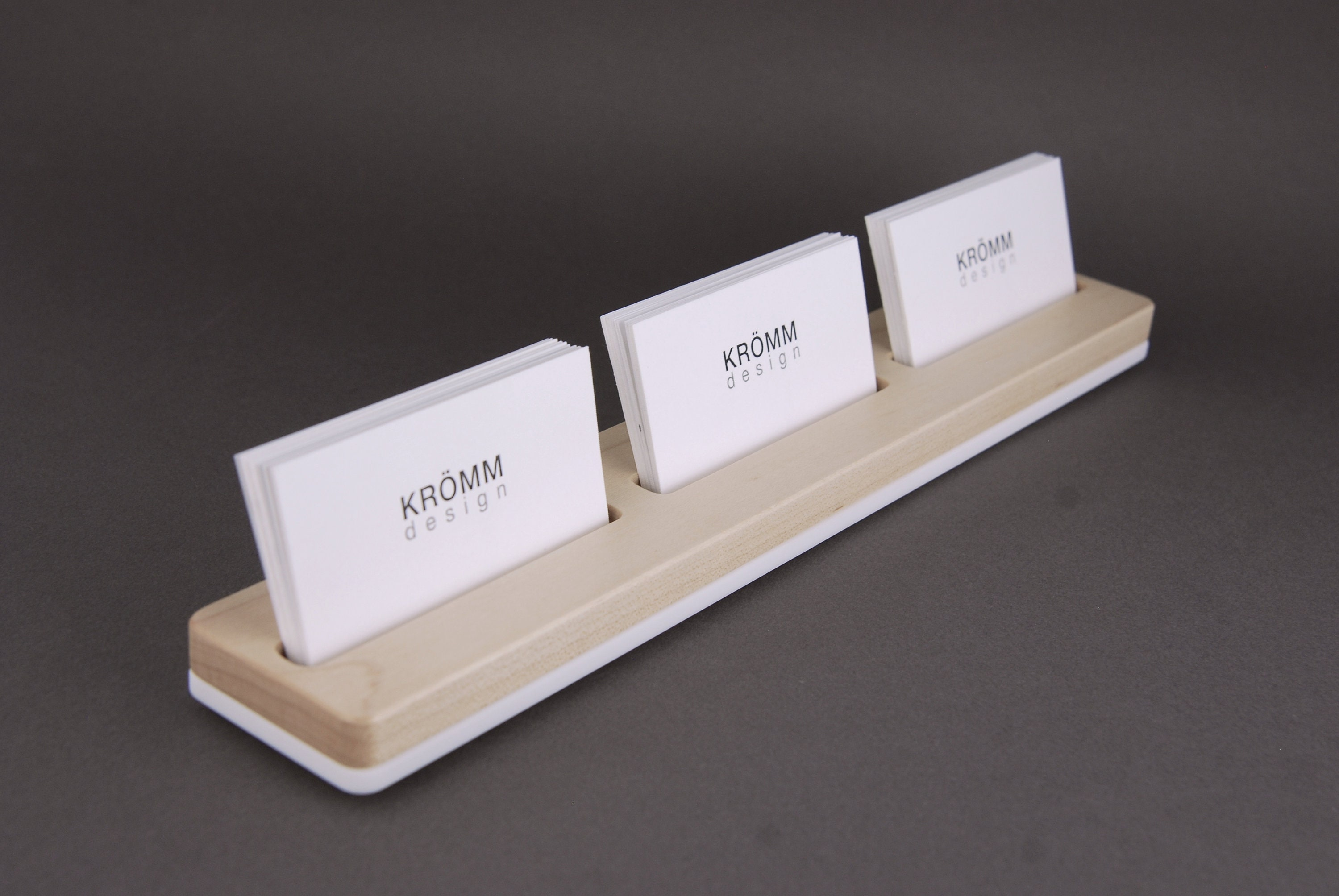 Sugar maple wood business card stand three business card stand sugar maple wood business card stand three business card stand wood business card display maple wood business card holder colourmoves