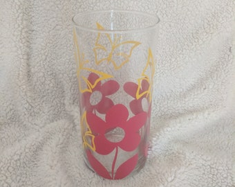 Flower and Butterfly Vase