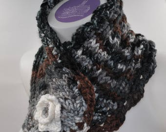 snood wool knit and crochet