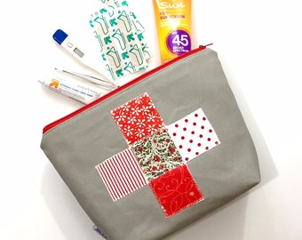 Patchwork First Aid Bag, First Aid Kit