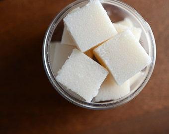 Almond Milk Sugar Cube Body Scrub - Sugar Scrub Cubes
