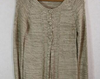 Cardigan Sweater Women Sweater Dress Size XL