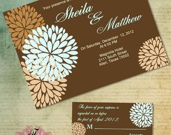Fall Blossom Wedding