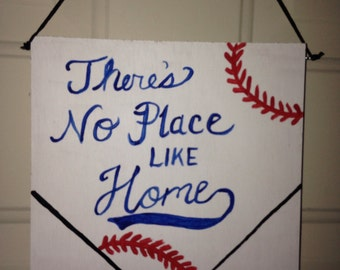Baseball Sign - wooden