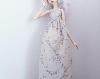 Silk dress for msd doll chateau kid k-7/k-11 body