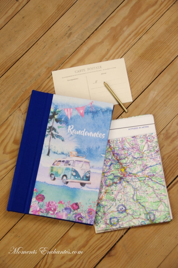 Travel journal, diary, hiking, mothers day gift, mother