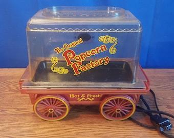 Original Popcorn Factory Wagon Kitchen Machine Vintage Antique