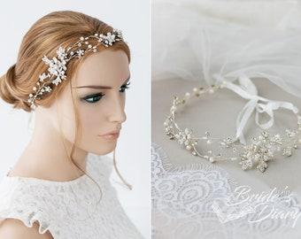 Bridal hair vine, wedding hairpiece, wedding headpiece, bridal jewelry