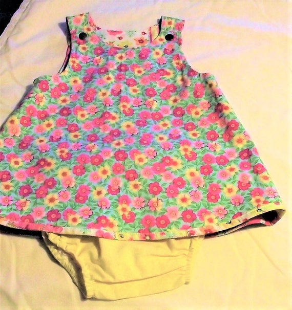 Infant Reversible Outfit, Size 3-6mo