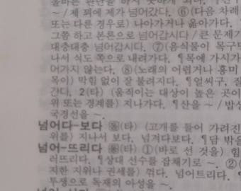 Korean Dictionary Pages