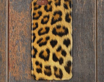 Leopard Skin Phone Case - PC046 | Personalised Gift | Unique Gift | Phone Case | iPhone | Samsung