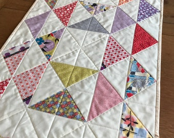 Retro Quilted Table Runner