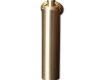 Handmade Brass Stash Capsule
