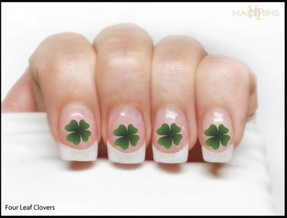Like this item? - Four Leaf Clover Shamrock St PATRICK'S DAY Nail Decal