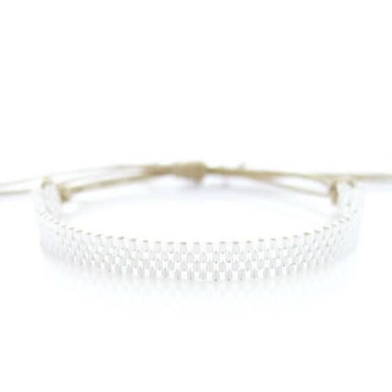 Skinny Silver Bracelet, Silver Skinny Bracelet, Silver Cord Bracelet, Stacking Silver Bracelet, Silver Stacking Bracelet, Beaded Bracelet