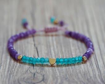 Delicate Semi-Precious Bracelet