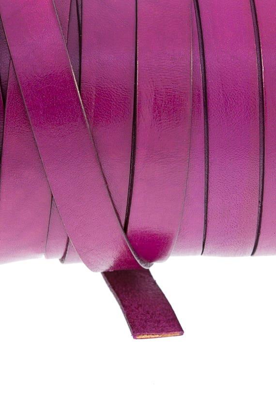 Flejes de cuero 12mm. Variedad de Colores