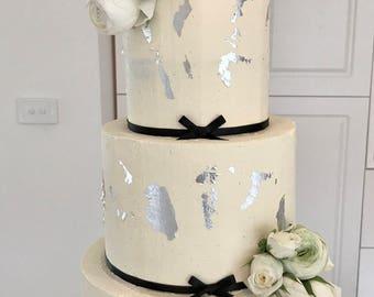 Primeros de la torta de boda | Iniciales personalizadas para pastel con y símbolo o un corazón