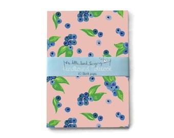 Blueberry - Custom Bullet Journal - Traveler - Notebook - Exercise Book