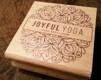Logo stamp personalized