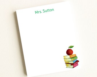 Personalized Teacher Notepad | Personalized Teacher Note Pads | Teacher Gifts | Personalized Notepad | Back To School Gifts