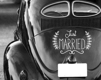 Personalized wedding sticker