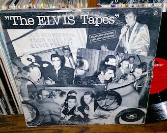 The Elvis Tapes Vintage Vinyl Record