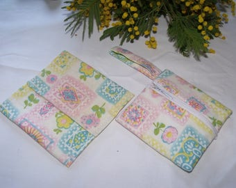 set of coin pocket and pocket diary