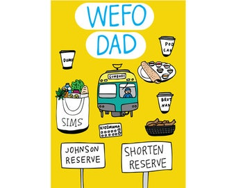 Father's Day Card - West Footscray Dad