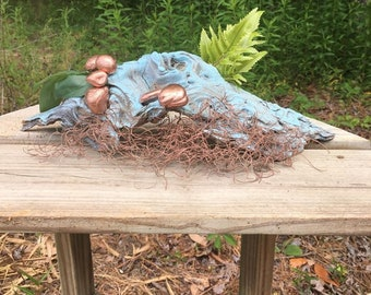 Painted Driftwood Decor